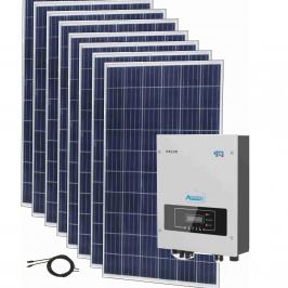 Sistem fotovoltaic OnGrid 3kW complet